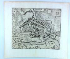 Orig.- Kupferstich DONAUWÖRTH Gesamtansicht - Merian um 1650