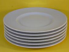 Bauscher Frühstücksteller 19 cm breite Fahne Teller Kuchenteller weiß NEU