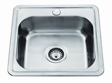 New Yakka 447mm Inset Stainless Steel Laundry Sink Trough