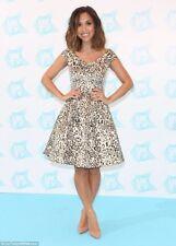 BNWT Myleene Klass Leopardo Stampa Bardot Skater Dress Size 12 RRP £ 74