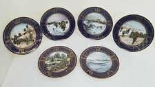 """Set of 6 Spode D-Day Commemorative Plates """"The Operation Overlord Series"""" Ltd Ed"""