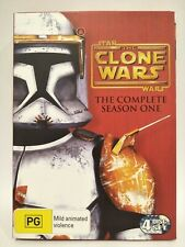 Star Wars The Clone Wars The Complete Season One Dvd Set Region 4 + Booklet