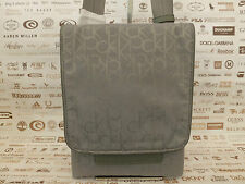 CALVIN KLEIN Thin Body Bag Men's JACQUARD K71 Grey Side Shoulder Bags BNWT RP£79