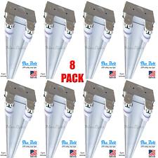 4' ft. 2 Lamp T8 LED Strip Light Fixture - Shop, Garage, 44W 5,700lm (Qty 8)