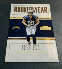 2016 PANINI CONTENDERS FOOTBALL ROOKIE OF THE YEAR #19 JOEY BOSA - CHARGERS