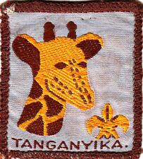Boy Scout Badge ++Ext TANGANYIKA