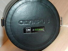 OLYMPUS OM ZUIKO 85mm F2 LENS CASE