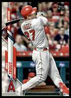 2020 Topps Update Mike Trout #U-292 Tw8656