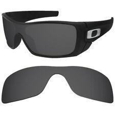 Polarized Black Replacement Lenses for Oakley Batwolf Sunglasses