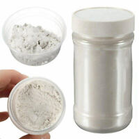 100g 400Grit Glitter Pearl Pigment Powder Silver Metal Sparkle Shimmer Paint DIY