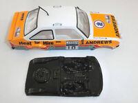 Lexan rally MKII compatible SCX Scalextric ES Mustang no incluye carroceria