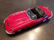 1/43 jaguar e-type e type cabrio cabriolet 1961 red corgi