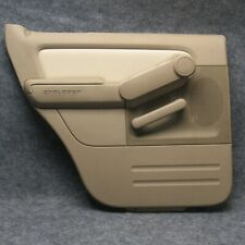 2007-2010 Ford Explorer LH Drivers Side Rear Power Door Panel Camel OEM 38113