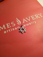 James Avery  Woven Charm Star of David Sterling Silver 925 Judaism
