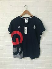 adidas Women's Team GB Village T-Shirt - XL - Navy - New