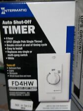 Intermatic FD4HW White 4 Hour In-Wall Timers Energy Controls