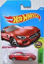 HOT WHEELS 2017 HW EXOTICS '15 MERCEDES-AMG GT #2/10 RED