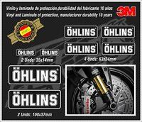 Decal-Calcas-stickers-Adhesivos-pegatinas-aufkleber-autocollants-adesivi,Ohlins