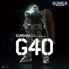 Bandai Hobby G40 Industrial Design Ver. RX-78-2 Gundam HG 1/144 Model Kit USA