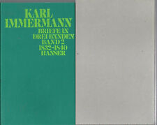 Briefe - Band II / 1832 - 1840 Karl Immermann - NEU - Im Kartonschuber - Hanser