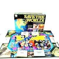 Save The World! Ecological Issues Board Game Environmental Endangered Species