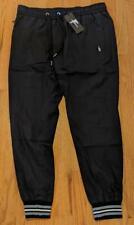 Hommes Authentique Dolce Gabbana Rayé à Ruban Nylon Jogger Pantalon 52 US 36