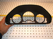 Mercedes W202 1998-2000 instrument cluster FRONT black/Brown Clip on OEM 1 Cover