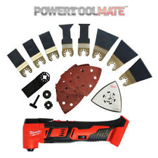 Milwaukee M18BMT-0 18v Multi Tool Naked  Body C/W (extra) Free 8Pce blade pack
