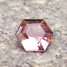 TOURMALINE RUBELLITE-CONGO 1.26Ct FLAWLESS, HOT PINK COLOR, FOR JEWELRY, VIDEO!