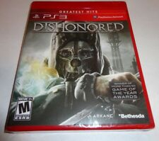 Dishonored  (Sony Playstation 3, 2012) new ps3