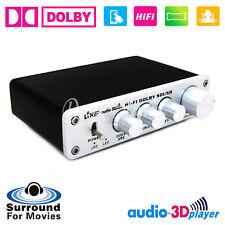 HiFi Dolby Surround Audio Processor USB DAC Preamp ASIO Sound Card Headphone amp