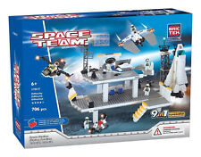 Space Station BricTek Building Blocks Space Team Compatible w/other brands
