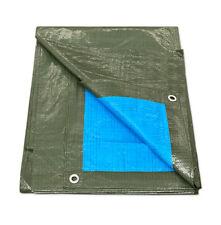 Telone occhiellato impermeabile 100gr copritutto esterno piscina telo pvc gazebo