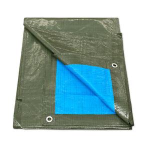 Plane mit Ösen Wasserdicht 100gr Copritutto Externe Schwimmbad PVC Gartenlaube