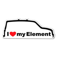I LOVE MY ELEMENT JDM Car Sticker Decal Car  #0644