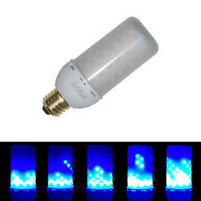 JUNOLUX LED Flame Effect Bulb,Flickering Atmosphere Lights,BLUE,3.5W E26,1Pcs