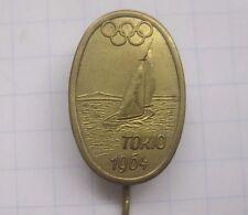1964 Tokyo Olympia/VOILES... âgées aiguille/pas de pin (ka6/5)