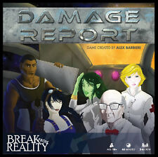 Damage Report Cooperative Board Game Break From Reality