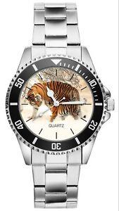 Tiger Geschenk Artikel Fan Uhr 20497