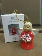 GOEBEL, 2019 ANNUAL ANGEL BELL, 44TH EDT. COLOR-CHERRY RED, FREE 1ST CLASS USPS