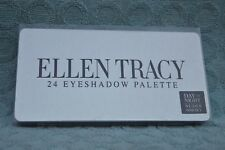 New Ellen Tracy 24 Eye Shadow Palette Day To Night Nudes + Smoky Looks