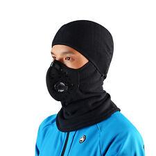 Rockbros hiver cyclisme anti-brouillard bonnet coupe-vent vélo foulard outdoor masqué cap