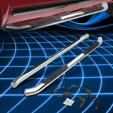 """Chrome Stainless 3"""" Side Step Nerf Bar for 2015-2016 Colorado/Canyon Crew Cab"""