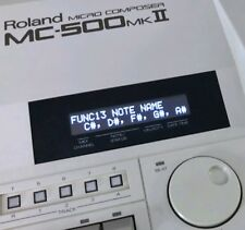Roland MC-50 MC-50 MKll MC-300 MC-500 MC-500 MKll Custom OLED Display !