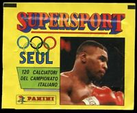 1987 Panini Supersport Unopened sticker card paper Pack italy nice condition wax