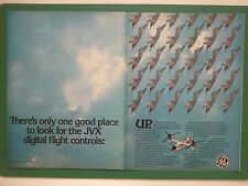 9/1984 PUB GE GENERAL ELECTRIC NAVY F/A-18 DIGITAL FLIGHT CONTROL JVX V-22 AD