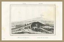 Ponte sul Cantara Sicilia Taormina Artaud 1835 Firmin Didot Freres