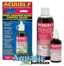 ACUREL F 1.06 oz 25 ml Keeps Aquaruim Water Crystal Clear