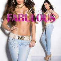 Sexy Women's Designer Hot Low Rise Skinny Leg Stretch Jeans Sizw 10 12 14 M L XL