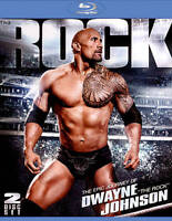 """WWE: The Epic Journey of Dwayne """"The Rock"""" Johnson (Brand new Blu-ray Disc)"""
